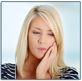 Jaw pain can be a sign of TMJ
